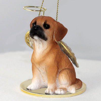 Puggle-Dog-Figurine-Angel-Statue-181354148195