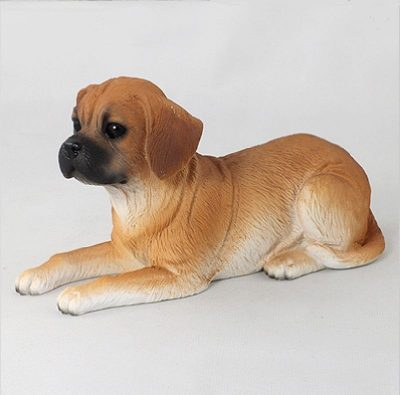 Puggle-Hand-Painted-Collectible-Dog-Figurine-181336551995
