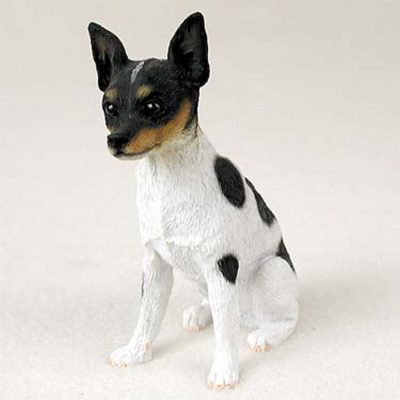 Rat-Terrier-Hand-Painted-Collectible-Dog-Figurine-Statue-400269478353