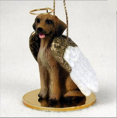 Rhodesian-Ridgeback-Dog-Figurine-Ornament-Angel-Statue-Hand-Painted-181337620400