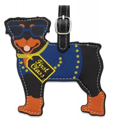 Rottweiler-Dog-Luggage-Briefcase-Gym-Backpack-Travel-ID-Tag-400530154645