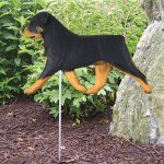 Rottweiler-Outdoor-Garden-Dog-Sign-Hand-Painted-Figure-181369687162