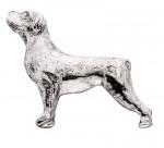 Rottweiler-Silver-Dog-Charm-Refrigerator-Magnet-Figurine-180839793276