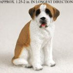 Saint-Bernard-Mini-Resin-Dog-Figurine-Smooth-180644349938