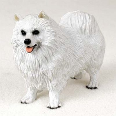 Samoyed-Hand-Painted-Collectible-Dog-Figurine-180838986703