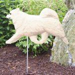 Samoyed-Outdoor-Garden-Dog-Sign-Hand-Painted-Figure-400688315101
