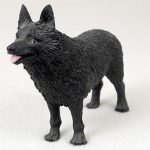 Schipperke-Hand-Painted-Collectible-Dog-Figurine-400250931031
