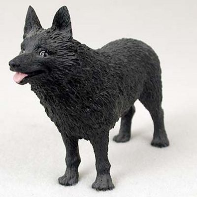 Schipperke-Hand-Painted-Collectible-Dog-Figurine-400250931031