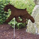 Schnauzer-Miniature-Outdoor-Garden-Dog-Sign-Hand-Painted-Figure-Black-181369689025