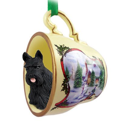 Scottish-Terrier-Dog-Christmas-Holiday-Teacup-Ornament-Figurine-400589056157