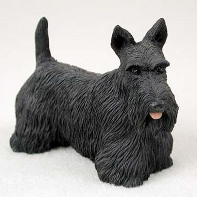 Scottish-Terrier-Hand-Painted-Collectible-Dog-Figurine-Statue-400263319782