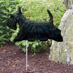 Scottish-Terrier-Outdoor-Garden-Dog-Sign-Hand-Painted-Figure-Brindle-400688316214