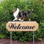 Sheltie-Dog-Breed-Oak-Wood-Welcome-Outdoor-Yard-Sign-Blue-Merle-181404211414