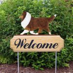 Sheltie-Dog-Breed-Oak-Wood-Welcome-Outdoor-Yard-Sign-Sable-400706814302
