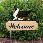 Sheltie-Dog-Breed-Oak-Wood-Welcome-Outdoor-Yard-Sign-Tri-400706814434