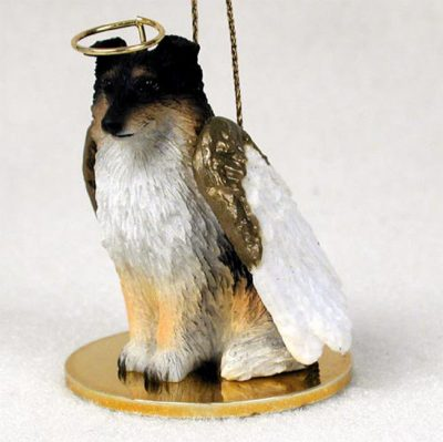 Sheltie-Dog-Figurine-Angel-Statue-Tri-Color-180741558160