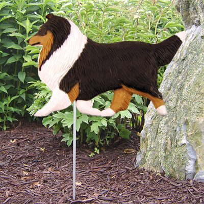 Shetland-Sheepdog-Outdoor-Garden-Dog-Sign-Hand-Painted-Figure-Tri-400688316873