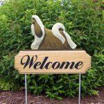 Shih-Tzu-Dog-Breed-Oak-Wood-Welcome-Outdoor-Yard-Sign-GoldWhite-400706815098