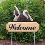Shih-Tzu-Dog-Breed-Oak-Wood-Welcome-Outdoor-Yard-Sign-SilverWhite-400706815275