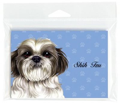 Shih-Tzu-Dog-Note-Cards-Set-of-8-with-Envelopes-Puppy-Cut-181382998742