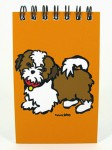 Shih-Tzu-Dog-Paper-Spiral-Memo-Notepad-Book-40-Pages-2x4-Inches-181132704831