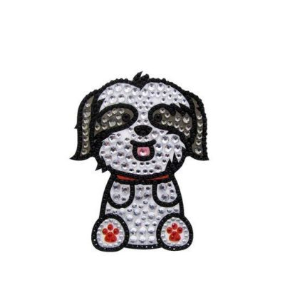 Shih-Tzu-Dog-Rhinestone-Glitter-Jewel-Phone-Ipod-Iphone-Sticker-Decal-400476855091