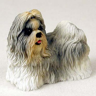 Shih-Tzu-Hand-Painted-Collectible-Dog-Figurine-Mixed-400226240618