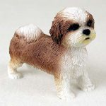 Shih-Tzu-Hand-Painted-Collectible-Dog-Figurine-Tan-Sport-Cut-400250443579