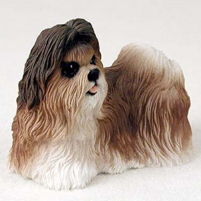 Shih-Tzu-Hand-Painted-Dog-Figurine-Statue-Tan-180638150329