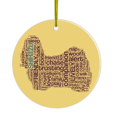 Shih-Tzu-Hand-Printed-Ceramic-Christmas-Holiday-Dog-Ornament-181270768944