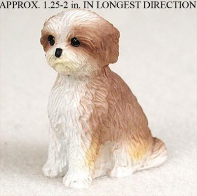 Shih-Tzu-Mini-Resin-Dog-Figurine-Tan-Puppy-Cut-400205071322