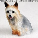 Silky-Terrier-Mini-Resin-Hand-Painted-Dog-Figurine-180977790330
