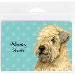 Soft-Coated-Wheaten-Dog-Note-Cards-Set-of-8-with-Envelopes-181382999219