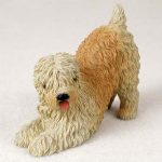 Soft-Coated-Wheaten-Hand-Painted-Collectible-Dog-Figurine-180973417802