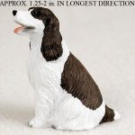 Springer-Spaniel-Mini-Resin-Dog-Figurine-Statue-Hand-Painted-Liver-400205071346