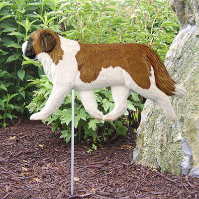 St-Bernard-Outdoor-Garden-Dog-Sign-Hand-Painted-Figure-400688322488