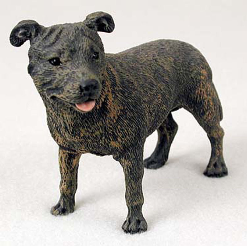 Staffordshire Bull Terrier Statues Figurines