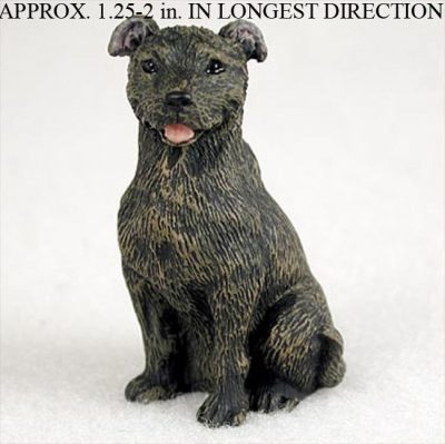 Staffordshire-Bull-Terrier-Mini-Resin-Hand-Painted-Dog-Figurine-Statue-181350375587