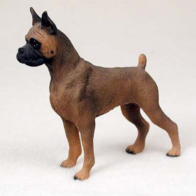 Tawny-Boxer-Hand-Painted-Dog-Figurine-Statue-180638150449