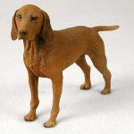 Vizsla-Hand-Painted-Collectible-Dog-Figurine-Statue-181152354628