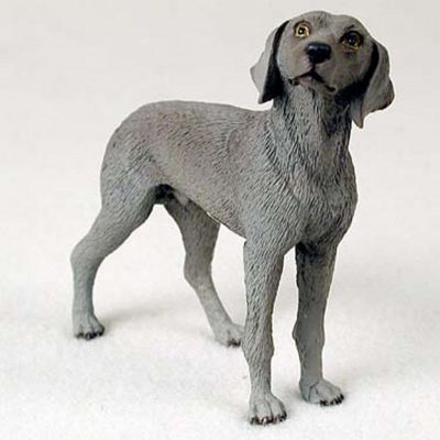 Weimaraner-Hand-Painted-Collectible-Dog-Figurine-400282958819