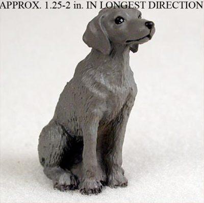 Weimaraner-Mini-Resin-Hand-Painted-Dog-Figurine-Statue-400249635045