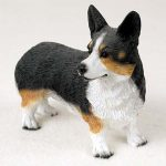 Welsh-Corgi-Cardigan-Hand-Painted-Collectible-Dog-Figurine-Statue-180973418375