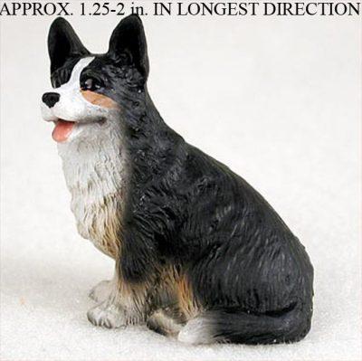 Welsh-Corgi-Cardigan-Mini-Resin-Dog-Figurine-Statue-Hand-Painted-400205071354
