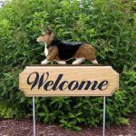 Welsh-Corgi-Pembroke-Dog-Breed-Oak-Wood-Welcome-Outdoor-Yard-Sign-Sable-400706818204