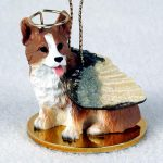 Welsh-Corgi-Pembroke-Dog-Figurine-Angel-Statue-Ornament-400482570429
