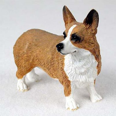 Welsh-Corgi-Pembroke-Hand-Painted-Collectible-Dog-Figurine-180973418776