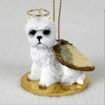 Westie-Dog-Figurine-Ornament-Angel-Statue-Hand-Painted-400288213002