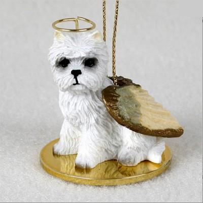 Westie-Dog-Figurine-Ornament-Angel-Statue-Hand-Painted-400288213002