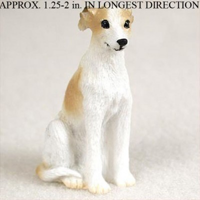 Whippet-Mini-Resin-Hand-Painted-Dog-Figurine-Statue-Hand-Painted-TanWhite-180675957997